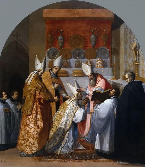 Carducho, Vicente -- El papa Alejandro III consagra a Antelmo de Chignin como obispo de Belley. Part 3 Prado Museum