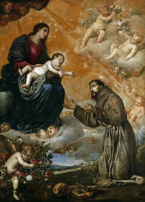Pereda y Salgado, Antonio de -- San Francisco de Asís en la Porciúncula. Part 3 Prado Museum