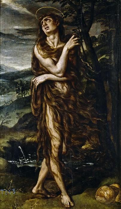 Лоарте, Алехандро де (приписывается) -- Кающаяся Магдалина. Часть 3 Музей Прадо