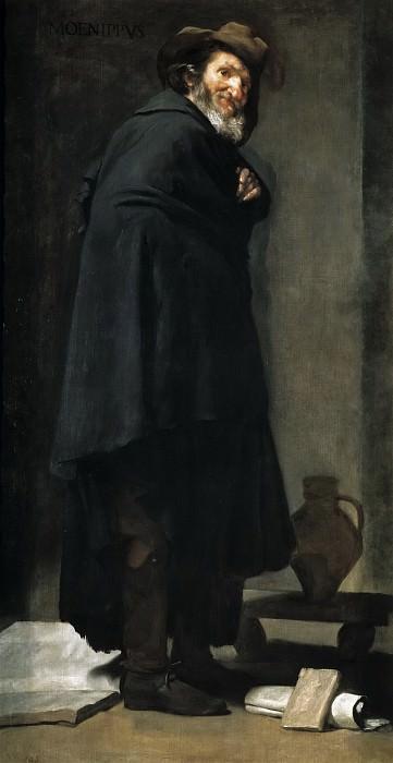 Velázquez, Diego Rodríguez de Silva y -- Menipo. Part 3 Prado Museum
