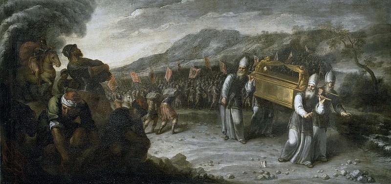 Montero de Rojas, Juan -- El paso del río Jordán con el Arca de la Alianza. Part 3 Prado Museum