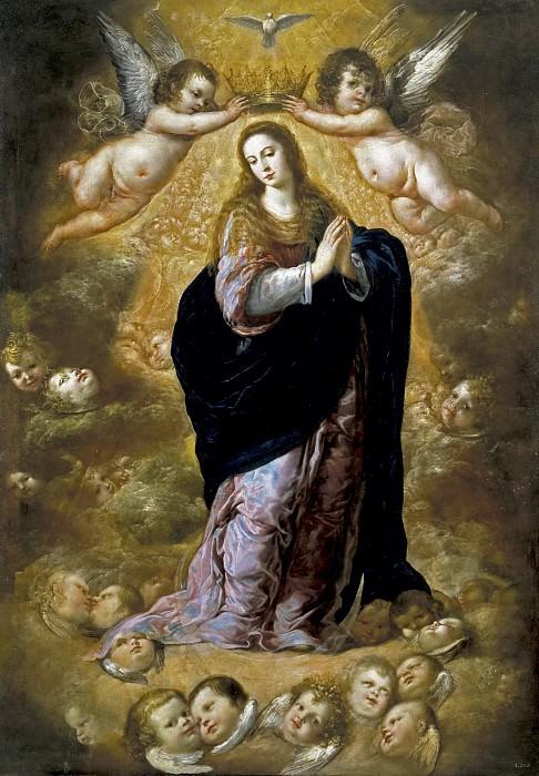 Pereda y Salgado, Antonio de -- La Inmaculada Concepción. Part 3 Prado Museum