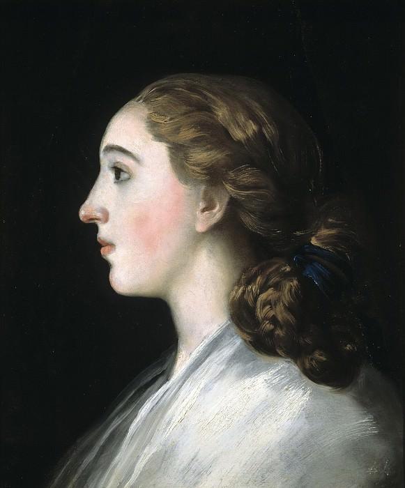 Goya y Lucientes, Francisco de -- María Teresa de Vallabriga. Part 3 Prado Museum