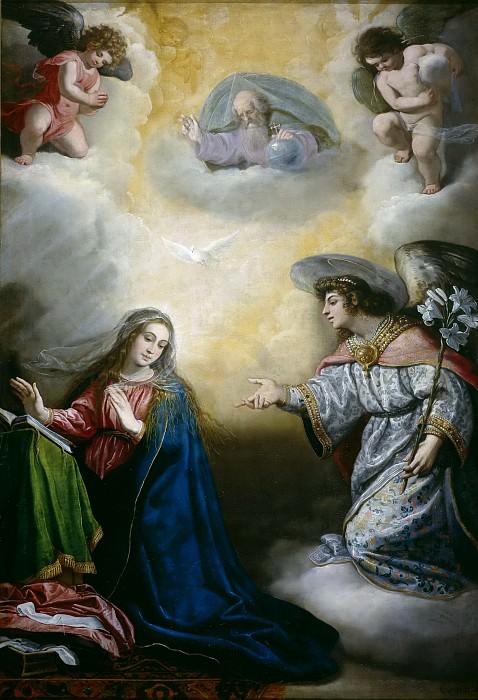 Carducho, Vicente -- La Anunciación. Part 3 Prado Museum