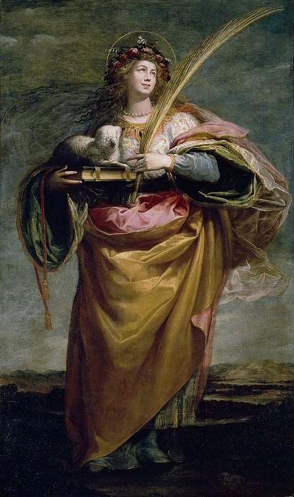 Кардучо, Висенте -- Святая Агнесса. Часть 3 Музей Прадо