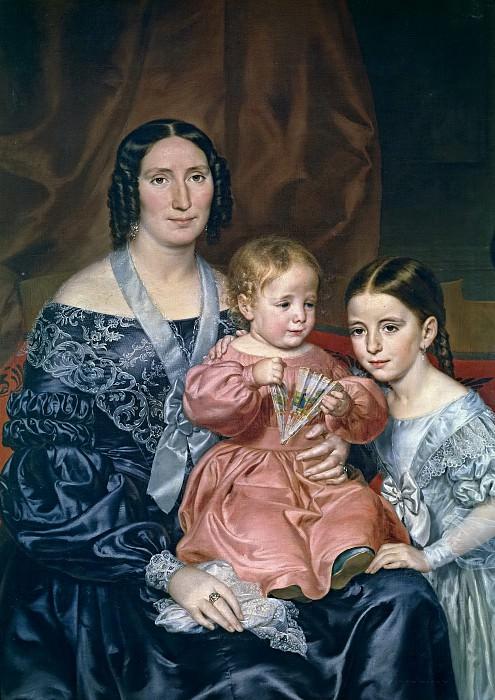 Tegeo Díaz, Rafael -- La familia Barrio. Part 3 Prado Museum