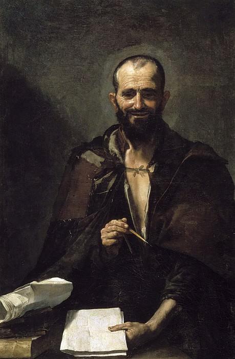 Ribera, José de -- Demócrito (¿?). Part 3 Prado Museum