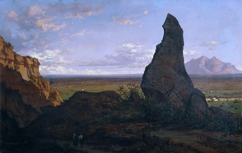 Rigalt y Farriols, Luis -- Monserrat desde la Roca Dreta. Part 3 Prado Museum