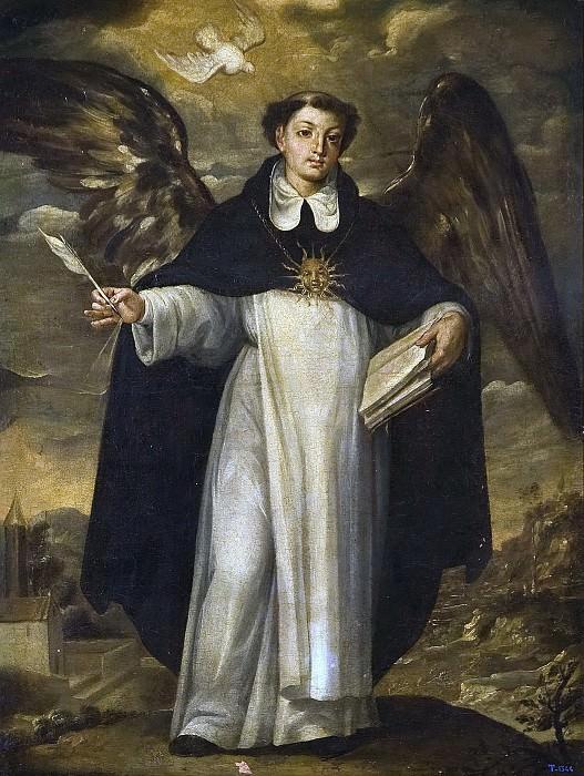 Risueño, José -- Santo Tomás de Aquino. Part 3 Prado Museum