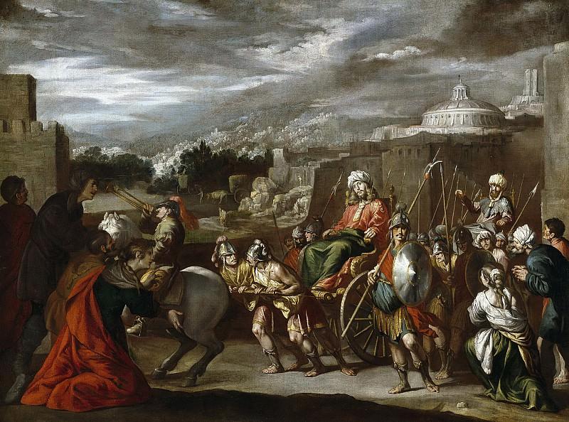 Кастильо и Сааведра, Антонио дель -- Триумф Иосифа в Египте. Часть 3 Музей Прадо