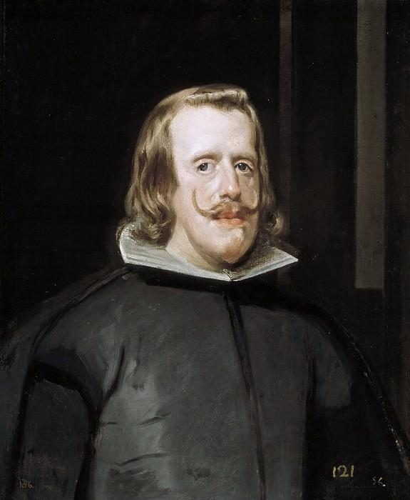 Velázquez, Diego Rodríguez de Silva y -- Felipe IV. Part 3 Prado Museum