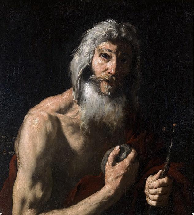 Аноним -- Святой Матфей (копия Риберы). Часть 3 Музей Прадо