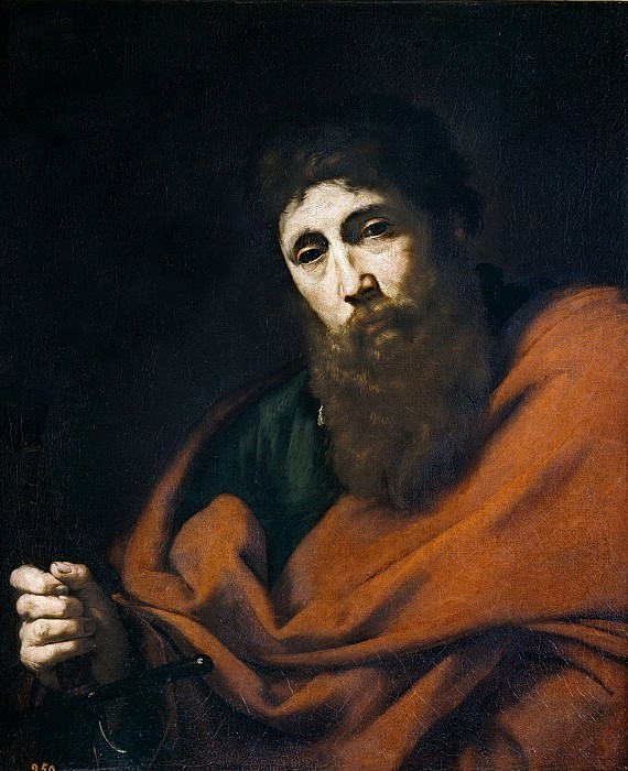Ribera, José de -- San Pablo. Part 3 Prado Museum