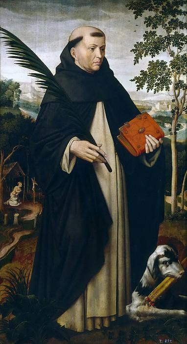 Benson, Ambrosius -- Santo Domingo de Guzmán. Part 3 Prado Museum