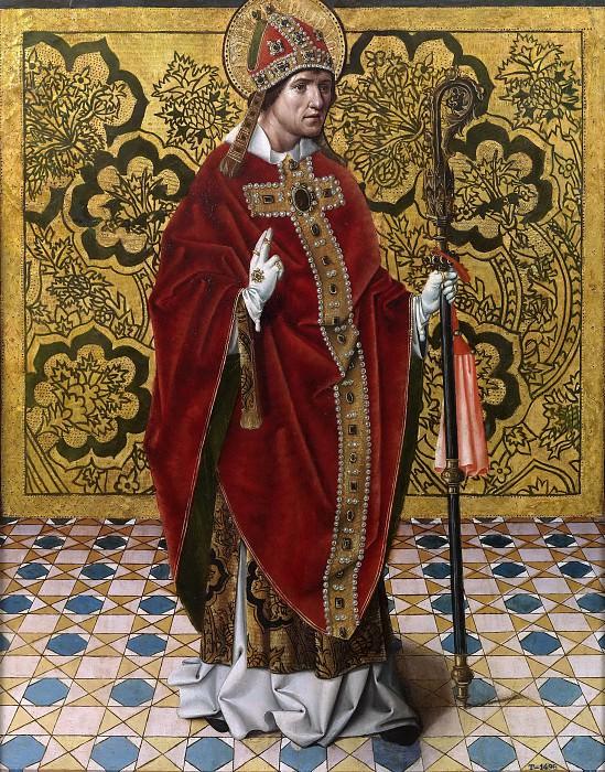 Nalda, Juan de -- San Gregorio. Part 3 Prado Museum
