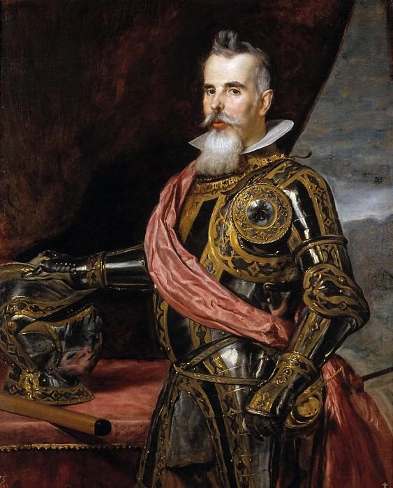 Velázquez, Diego Rodríguez de Silva y (Atribuido a) -- Don Juan Francisco de Pimentel, X conde de Benavente. Part 3 Prado Museum