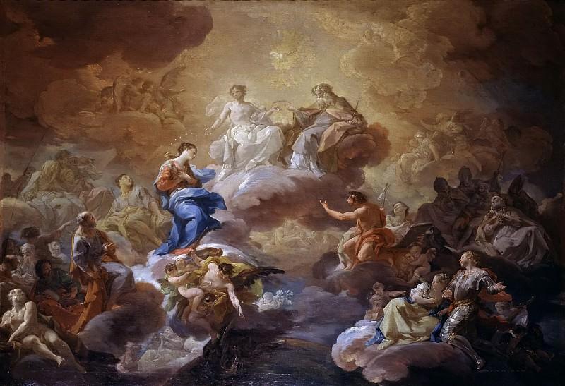 Джакинто, Коррадо -- Святая Троица, Богородица и святые. Часть 3 Музей Прадо