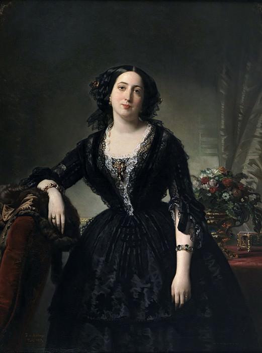 Madrazo y Kuntz, Federico de -- María Dolores de Aldama y Alfonso, marquesa de Montelo. Part 3 Prado Museum