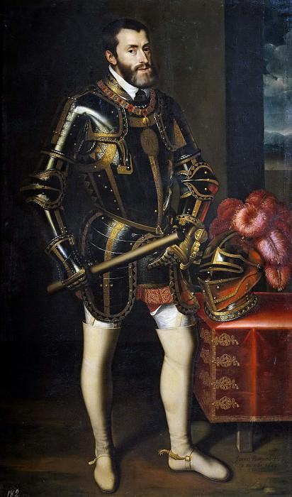 Pantoja de la Cruz, Juan -- El emperador Carlos V. Part 3 Prado Museum