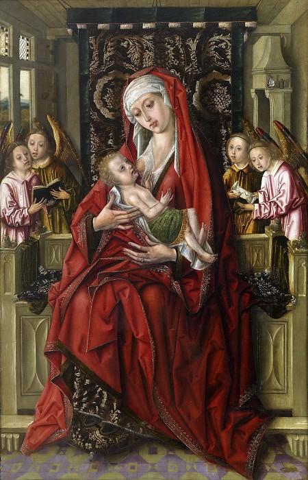 Maestro de don Álvaro de Luna -- La Virgen de la Leche. Part 3 Prado Museum