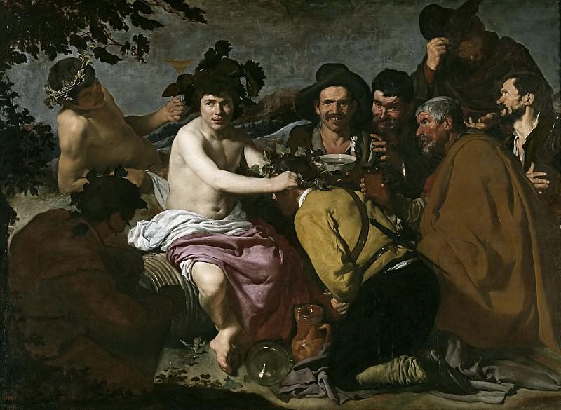 Los borrachos, o El triunfo de Baco. Diego Rodriguez De Silva y Velazquez