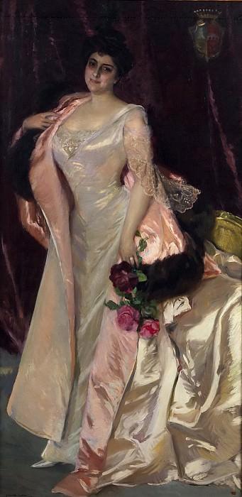 Sorolla y Bastida, Joaquín -- Mercedes Mendeville, condesa de San Félix. Part 3 Prado Museum