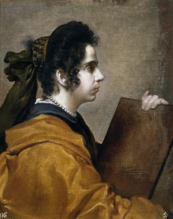 Una sibila (Juana Pacheco?). Diego Rodriguez De Silva y Velazquez