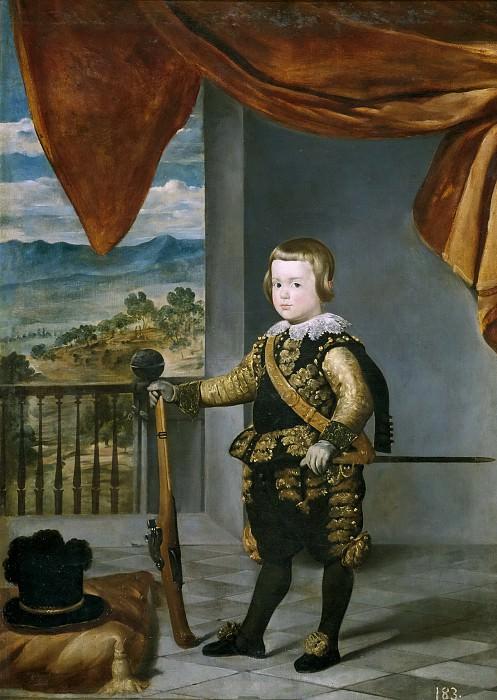 El príncipe Baltasar Carlos. Diego Rodriguez De Silva y Velazquez (Taller de)