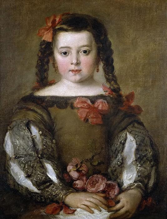 Antolínez, José -- Una niña. Part 3 Prado Museum