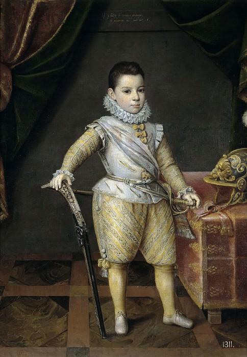 Kraek, Jan -- Felipe Manuel de Saboya a los cinco años. Part 3 Prado Museum