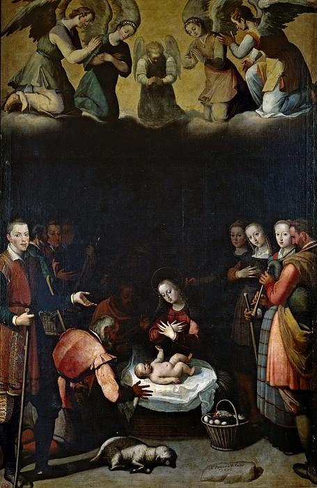 Pantoja de la Cruz, Juan -- El Nacimiento de Cristo. Part 3 Prado Museum