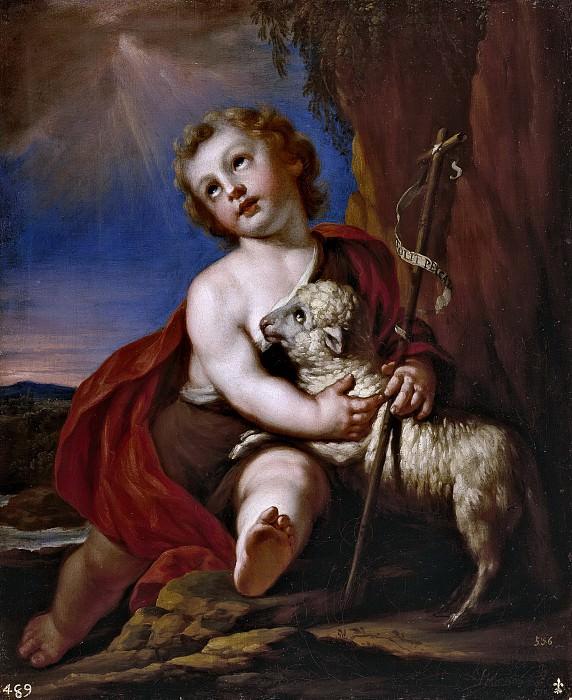 Palomino y Velasco, Acisclo Antonio -- San Juan Bautista, niño. Part 3 Prado Museum