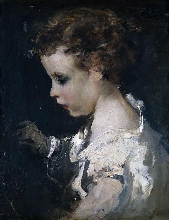 Pinazo Camarlench, Ignacio -- Niño. Part 3 Prado Museum
