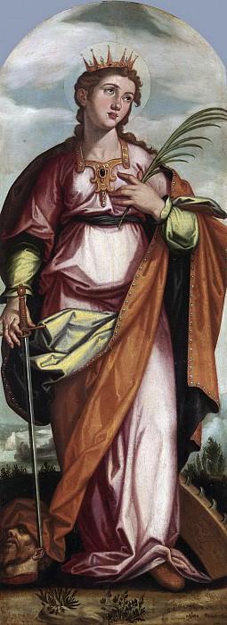 Пачеко, Франсиско -- Святая Каталина. Часть 3 Музей Прадо