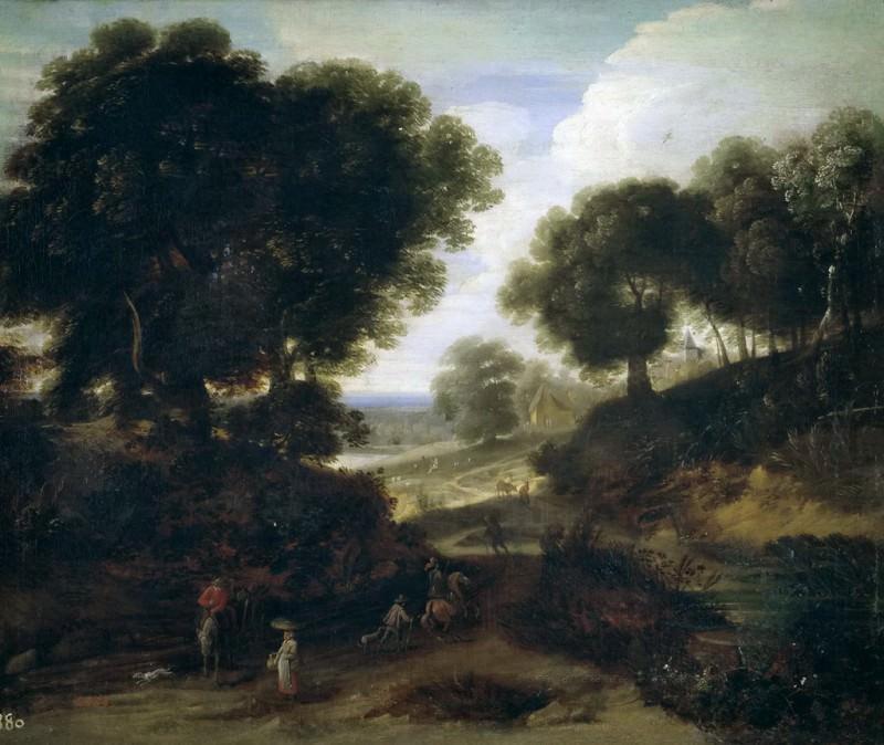 Stock, Ignatius van der -- Paisaje. Part 3 Prado Museum