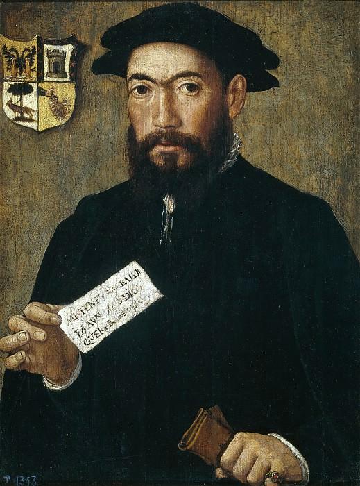 Anónimo -- Un conquistador de Indias. Part 3 Prado Museum