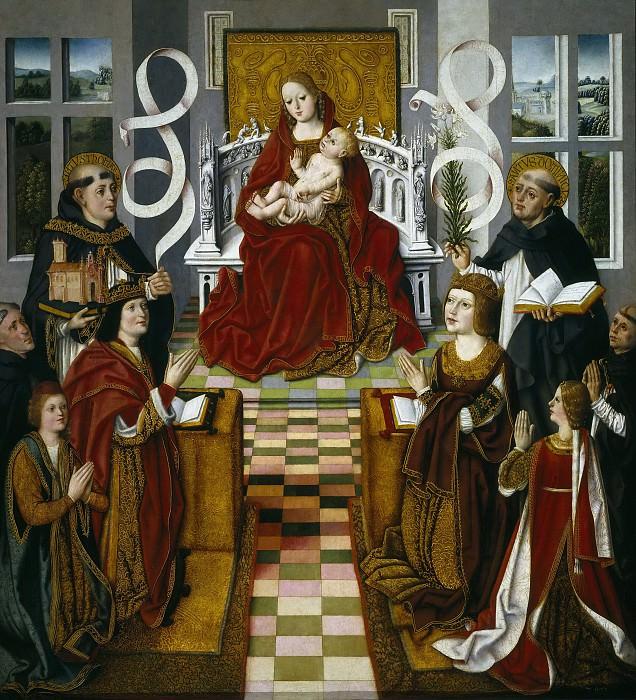 Maestro de la Virgen de los Reyes Católicos -- La Virgen de los Reyes Católicos. Part 3 Prado Museum