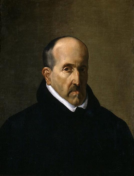 Anónimo (Copia Velázquez, Diego Rodríguez de Silva y) -- Luis de Góngora. Part 3 Prado Museum