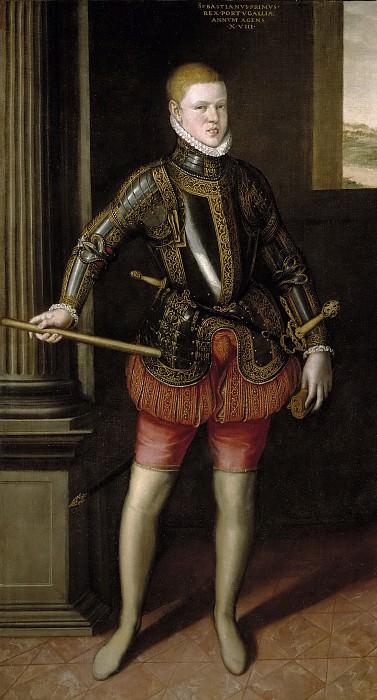 Morales, Cristóbal de -- El rey don Sebastián de Portugal. Part 3 Prado Museum