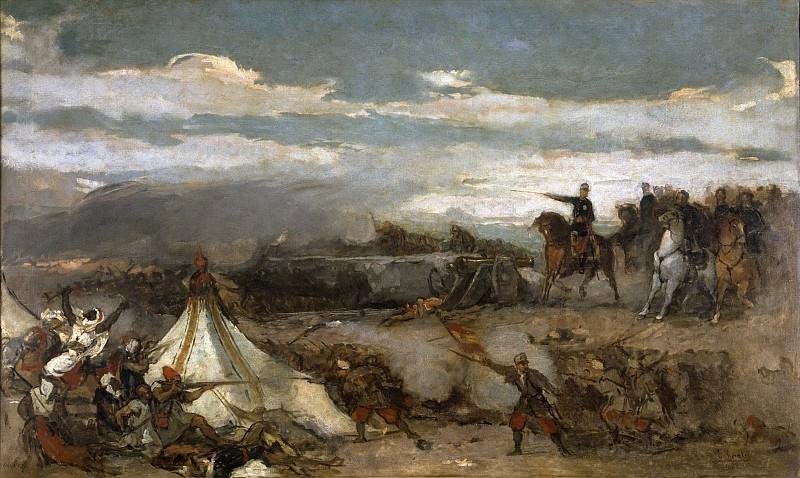 Росалес Гальина, Эдуардо -- Эпизод из битвы при Тетуане. Часть 3 Музей Прадо