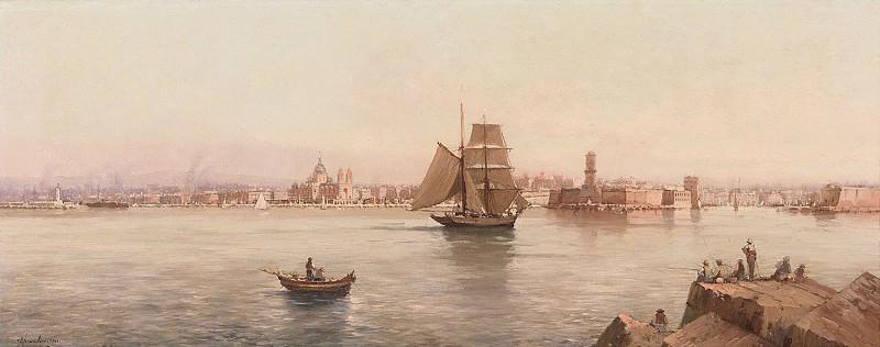 CHEVALIER AndrГ©e Paris 19th 20th century The Port of Marseille 122527 121. European art; part 1