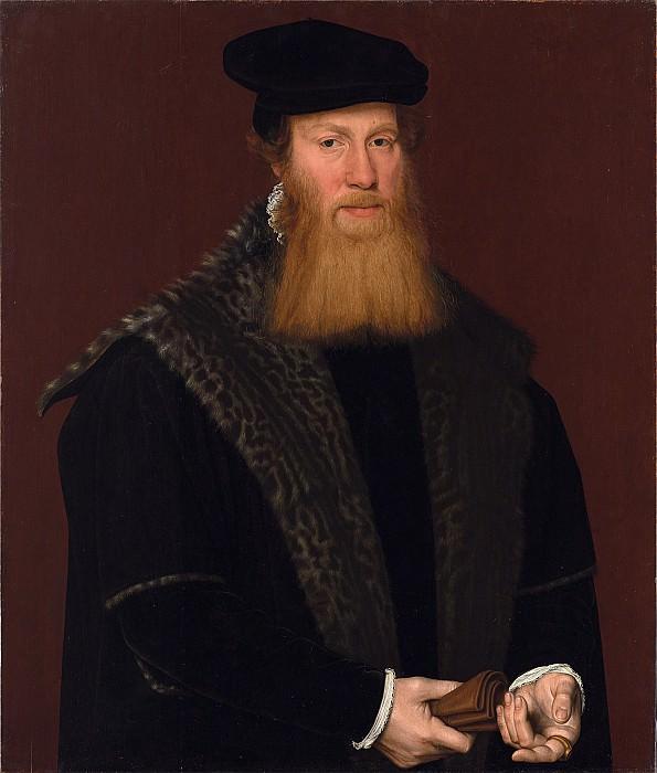 Attributed to Nicolas Neuchatel Portrait of an Unknown Gentleman 67939 321. European art; part 1