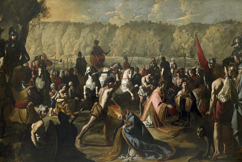 Карло Коппола - Обезглавливание Св. Дженнаро и его соратников в Поццуоли. Европейская живопись; часть 1