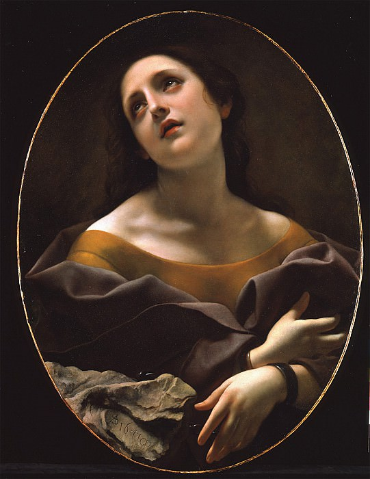CARLO DOLCI Allegory of Patience. European art; part 1