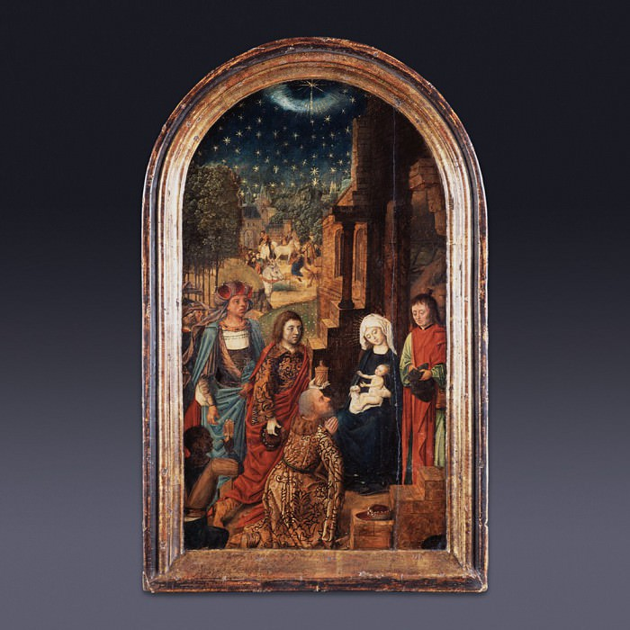 Adoration of the Magi. European art; part 1