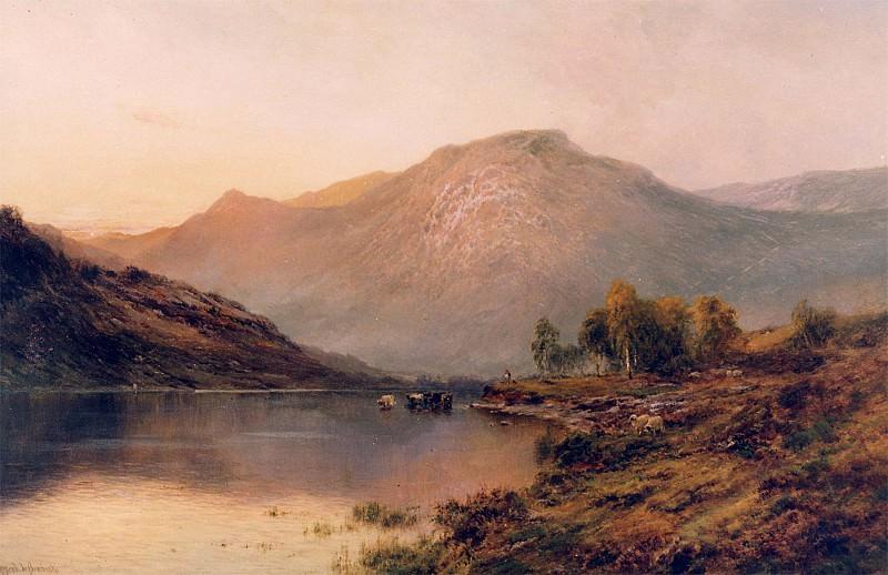 Alfred de Breanski Sr The Perthshire Hills. European art; part 1