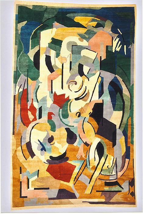Albert Gleize Rug nВ° 39 36657 1244. European art; part 1