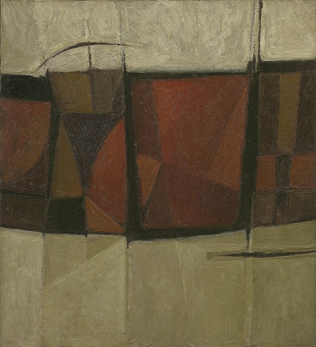 Alan Reynolds Red black russet and grey. European art; part 1