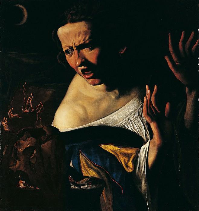 Angelo Caroselli Witchcraft Scene 16724 203. European art; part 1