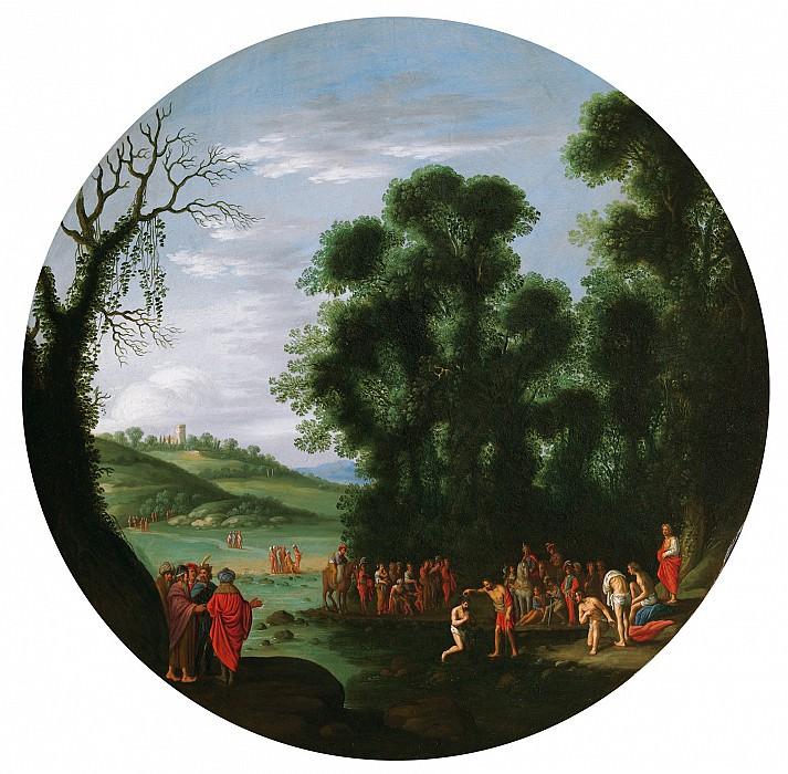 Agostino Tassi The Baptism of ChristThe Calling of Simon 17946 203. Европейская живопись; часть 1